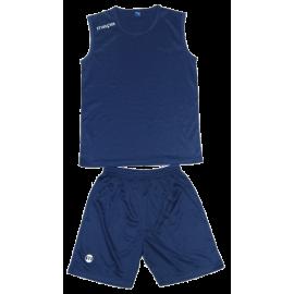 Short et maillot basketball marine