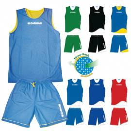 Lot de 10 ensembles réversibles basket Garmann