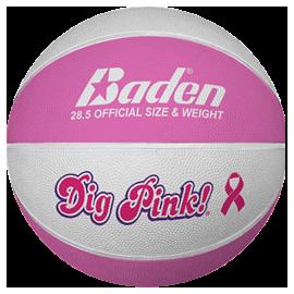 Ballon de basket Féminin Dig Pink