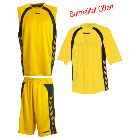 ensmble shoort, maillot, surmaillot basket