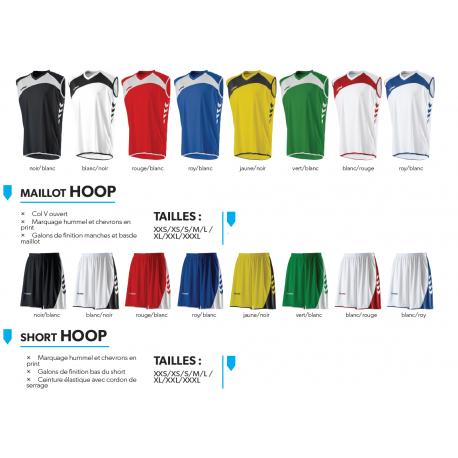Kit 10 ensembles basket Hummel Hoop