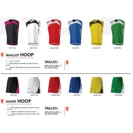 Kit 10 ensembles basket Hummel Hoop Lady