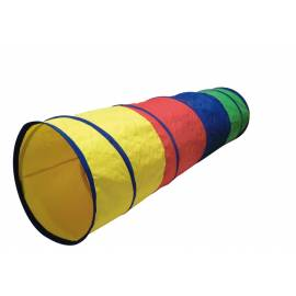 Tunnel multicolore pour parcours