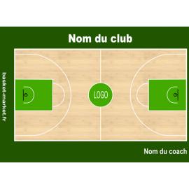 Planche tactique basket