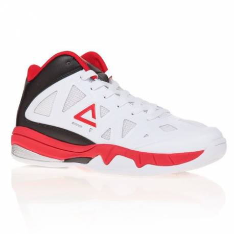 VICTOR KIDS WHITE & Black-Red Peak