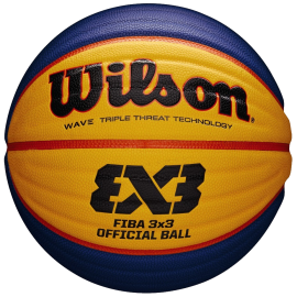 Ballon de Basket FFBB 3x3 Officiel Wilson