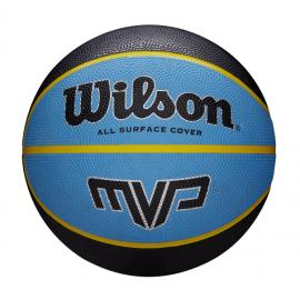 Ballon de basket Wilson MVP Black-Blue