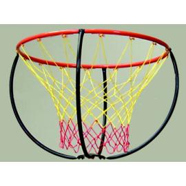 Cercle et filet pour panier basket santé