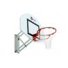 But de basket mural à hauteur réglable
