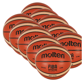 LOT DE 6 BALLONS MOLTEN GF7-GF6