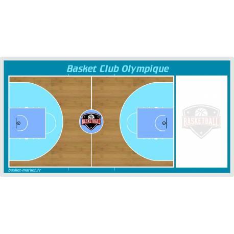 Tableau de basket mural personnalisé