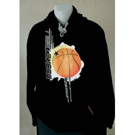 Sweat-shirt ballon de basket