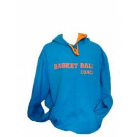 Sweat à capuche coach basket by basket-market