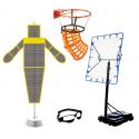 Matériel spécifique pour l'entraînement au basket